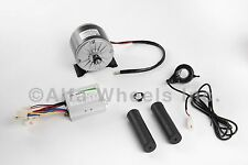 350W 24V DC electric motor 1016 kit w speed controller & Thumb Throttle