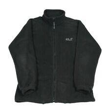 JACK WOLFSKIN Fleece Jacket | Coat Shell Zip Bomber Vintage Walking Hiking