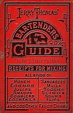 Jerry Thomas' Bartenders Guide: How to Mix Drinks 1862 Reprint: A by Brown, Ross