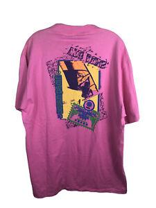 Ocean Pacific OP Vintage 1989 Windsurfing Pink T-Shirt Surf Beach NWT - Men's XL