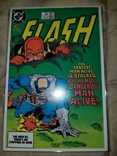 Flash #338 in mylar  bag! (Oct 84, DC)