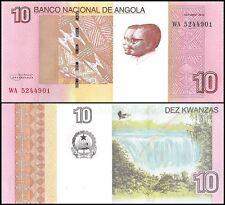 Angola 10 Kwanzas, (2012) 2017, P-NEW, UNC