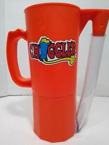 RARE CHUGGLER Chugging Beer Soda plastic mug stein drinking party festival cup