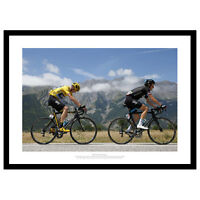 Chris Froome & Geraint Thomas 2015 Tour de France Photo Memorabilia (627)