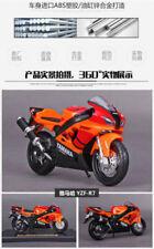 Moto orange pour Yamaha