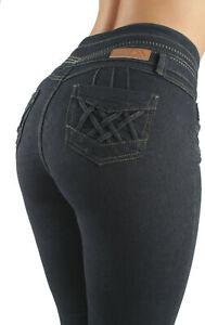 Plus Size, Colombian Design, High Waist, Butt Lift, Skinny Jeans