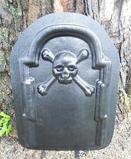 Heavy duty abs  plastic skull crossbone Tombstone mold