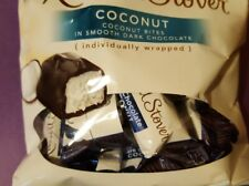 1 bag Russell Stover Coconut individully wrapped Handmade chocolate dark