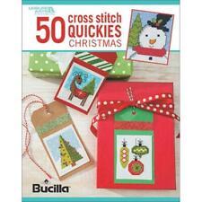 Leisure Arts Cross Stitch Patterns - 50 CROSS STITCH QUICKIES Noël