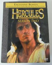 Hercules The Legendary Journeys Season 2- 7 Total DVDS 24 Episodes Opened EUC