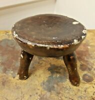 Sweet Antique Childs 3 Legged Milking stool The Most adorable stool i have seen.