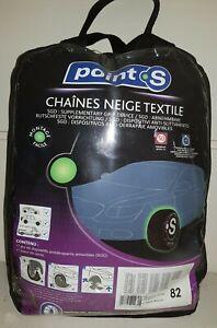 Chaussette chaine neige textile pneu Point S numéro 82 neuve