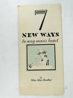 General Electric Advertising Brochure - Ways to Man's Heart - Newark 1928 - Vtg.