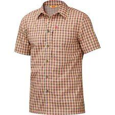 Fjäll Räven Svante Shirt Kurzarm-Herrenhemd, Gr. M, rot, Funktionshemd