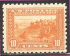 ESTADOS UNIDOS #404 Timbre Nh Belleza W/ Certificado - 1915 10c Pan-Pacific, P10
