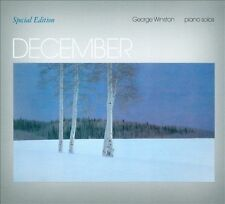 December by George Winston (CD, 2010, Dancing Cat) - Like New