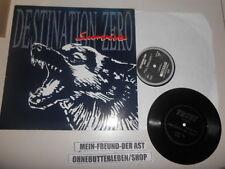 LP Punk Destination Zero - Survive (9 Song) RUFF N ROLL REC / Bonus Flexi