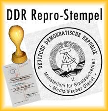 incl DDR Stempel Für den Schutz der Arbeiter und Bauern Macht Stempelkissen