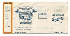 Kevin Gross NO HITTER ticket Stub 8/17/92 Dodgers Giants Rare HTF