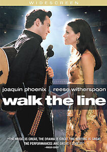 DVD - Walk the Line - Joaquin Phoenix - Reese Witherspoon - James Mangold