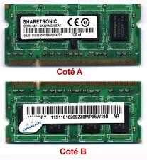 Mémoire SDRAM DDRII 667   1Go 1GB  SODIMM 200 pins dorés