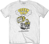GREEN DAY Longview Doodle T-SHIRT OFFICIAL MERCHANDISE