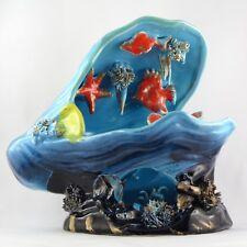 MOULE, VEILLEUSE Large Céramique VALLAURIS Vintage 60/70 kitch/lamp/mussel/shell