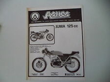 advertising Pubblicità 1977 MOTO ASPES JUMA 125