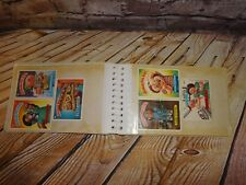 Vintage 1986 Garbage Pail Kids Stickers Collectors 54 Cards