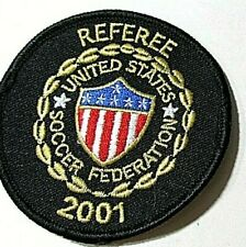 """2001 Soccer Referee Patch United States Soccer Federation 3"""" USSF"""