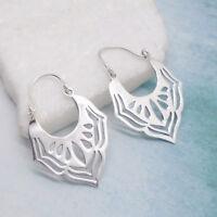 Bali Hippie Gipsie Design Ohrringe Creolen Ringe Hänger 925 Sterling Silber neu
