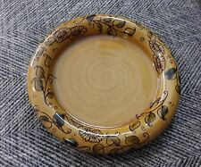 Hannah McAndrew Barm Pottery plate dish very good cndn slipware Scottish studio