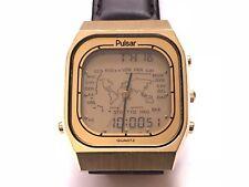 vintage pulsar  hamilton seiko multifunction rare  wristwatch 🇯🇵