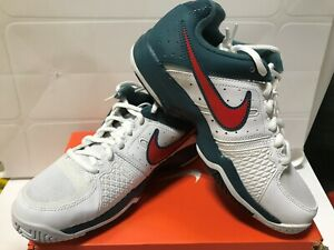Nike Youth Air Cage Court Tennis Shoes Style #549890 107