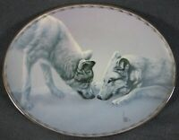 Gentle Approach Collector Plate Nature's Tenderness Lee Cable Bradford Wolves