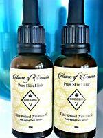 Retinol Anti-Wrinkle Face Serum 2x30ml 60ml High Potency2.5% Anti-aging ORGANIC