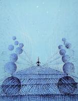 PEVERELLI Cesare : La Chrysalide bleue - LITHOGRAPHIE originale signée #85ex