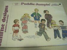 UNCUT SUNRISE DESIGNS Puddle Jumpin' Sewing Pattern Toddler Sportswear