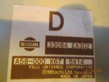 NISSAN Navara D40 gearbox écus 33084 ea302 a58-000 x67 5426