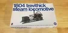 Entex 1:38 1804 Trevithick Steam Locomotive Working Model Kit w Display Case