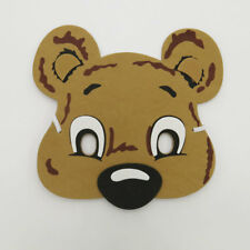 Bear Wild Animal Foam Mask Zoo Safari Farm Jungle Costumes Kids Child Boy Girls
