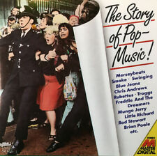 The Story Of Pop Music by Various Artists (1987) Early Pressing Sanyo Japan CD