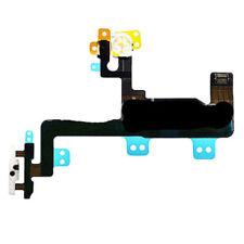 """Para iPhone 6 4.7"""" en OFF botón de encendido flex con LED Luz De Flash Soporte De Metal"""