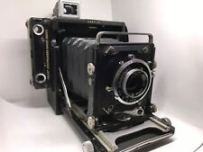 Graflex Century Graphic folding Camera + Optar 101mm 4.5 + Graflok 120 back