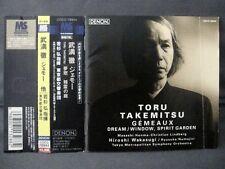 """""""ORCHESTRAL WORKS II - Gemeaux/Dream Window/Spirit Garden"""" Takemitsu JAPAN PRESS"""
