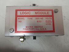 Micro Switch Logic Module Tr3 15 Vac 12 Vdc
