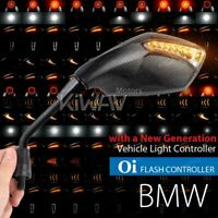 Fist LED Mirrors Carbon Oi Flash Control Relay M10 1.5Pitch for BMW R 1200GSA