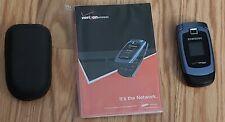 Verizon Wireless Samsung SCH-u340 Flip Phone w/Manual and Case