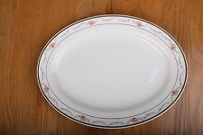 Vintage Edwin M Knowles China Co Garland Pattern Serving Platter Made In USA
