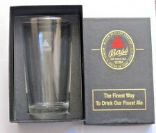 Vintage Bass Ale One Pint Glass, with a box.